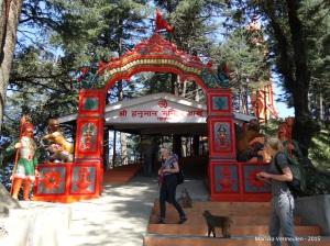 TravelInspire Shimla - Jakhu Hilltempel