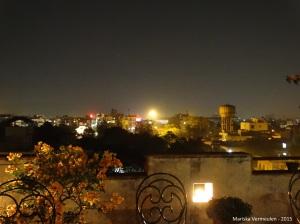 TravelInspire Jaipur - uitzicht vanaf dakterras